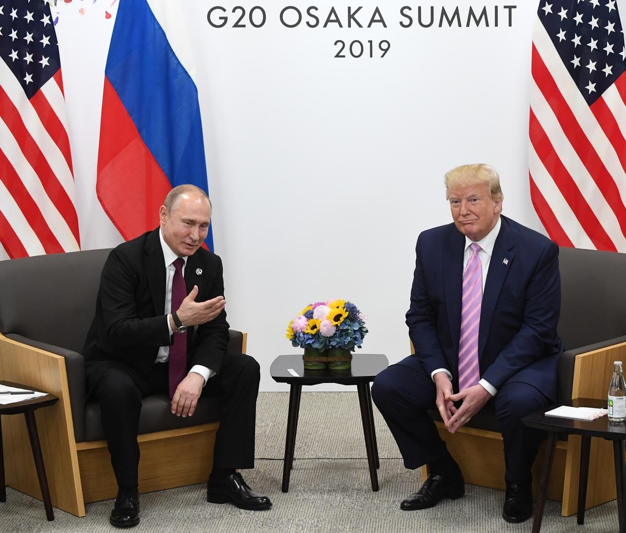 بوتين يشكر ترامب على معلومات من الولايات المتحدة أسهمت في إحباط هجمات إرهابية بروسيا