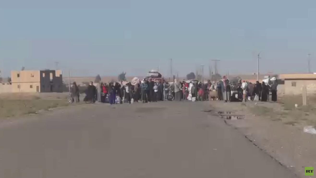 معاناة الآلاف بسبب ممارسات مسلحي النصرة