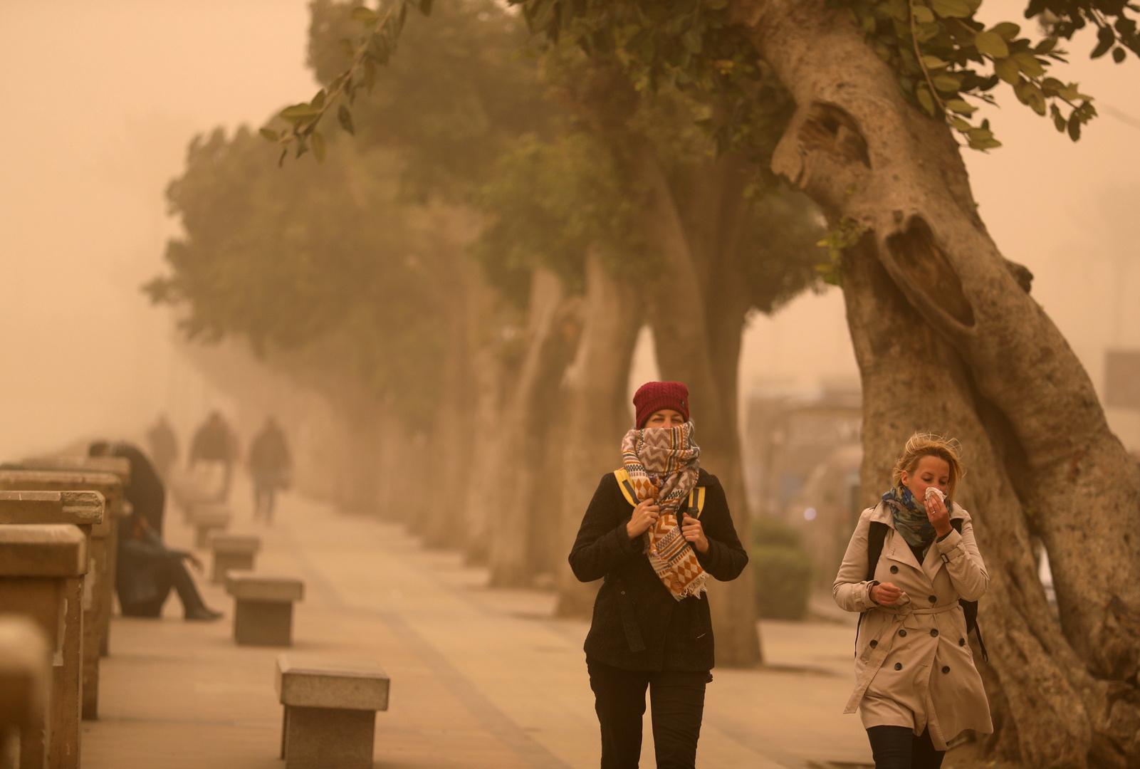 الأرصاد الجوية المصرية تحذر المواطنين من الطقس في البلاد