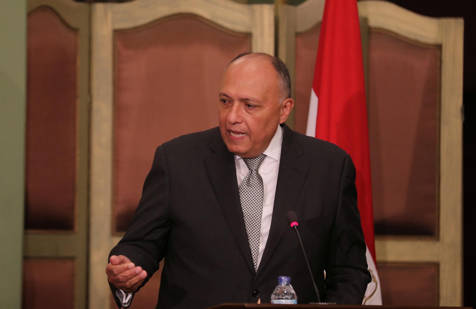 مصر وإيطاليا تؤكدان رفضهما التدخلات الخارجية العسكرية في ليبيا