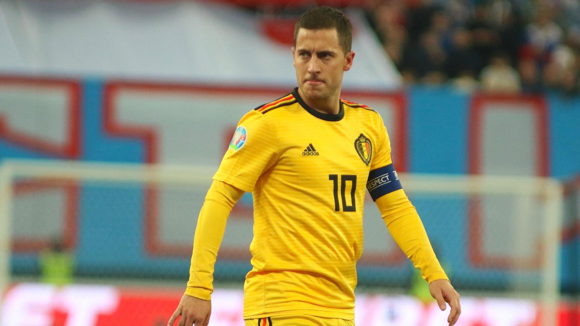 هازارد أفضل لاعب بلجيكي في 2019