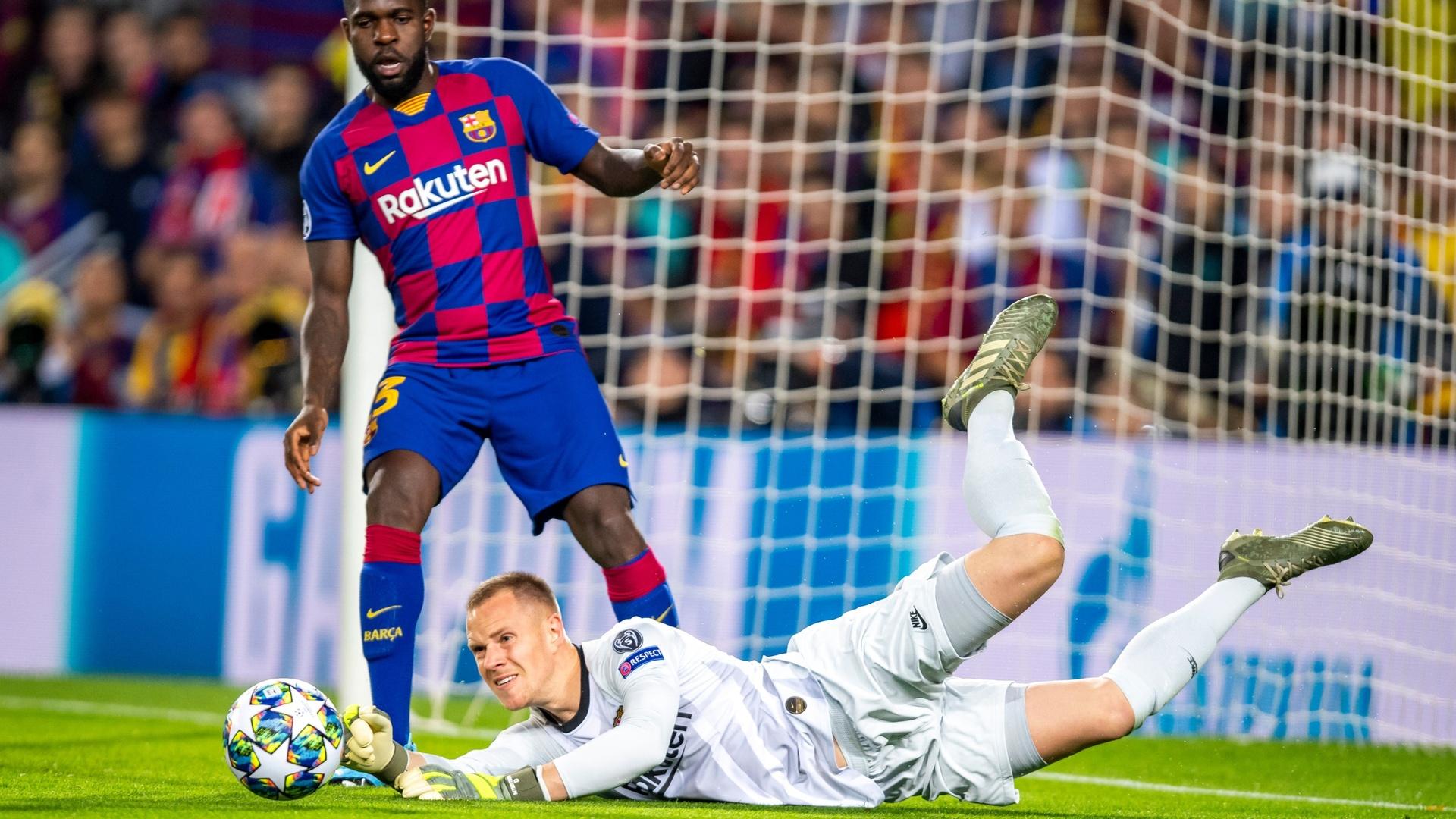 حارس مرمى برشلونة يرفض الخضوع لعملية جراحية