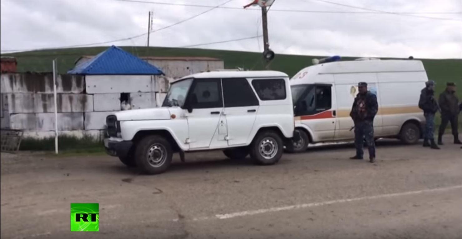 نقطة لشرطة المرور في إنغوشيا