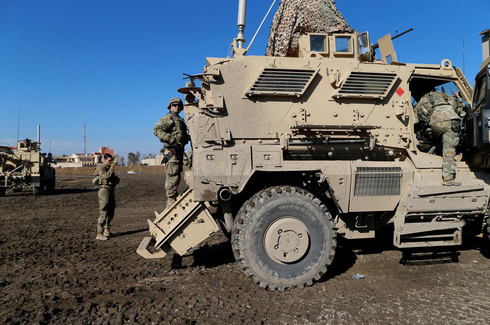 البنتاغون ينشر قوات من مشاة البحرية في محيط سفارة الولايات المتحدة لدى العراق (صور)