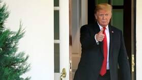 """""""إندبندنت"""" البريطانية: ترامب يلغي مؤتمره الصحفي ويغادر قمة الناتو بلندن بعد سخرية زعماء منه 5de7bde64236044e1f68ccb5"""