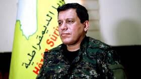 مظلوم عبدي: إعلان أردوغان إسكان مليون شخص شمالي سوريا أمر خطير جدا