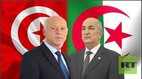 اتصال هاتفي بين قيس سعيد والرئيس الجزائري المنتخب