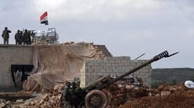 القوات السورية تتوغل إلى نقطة مراقبة تركية جديدة في إدلب