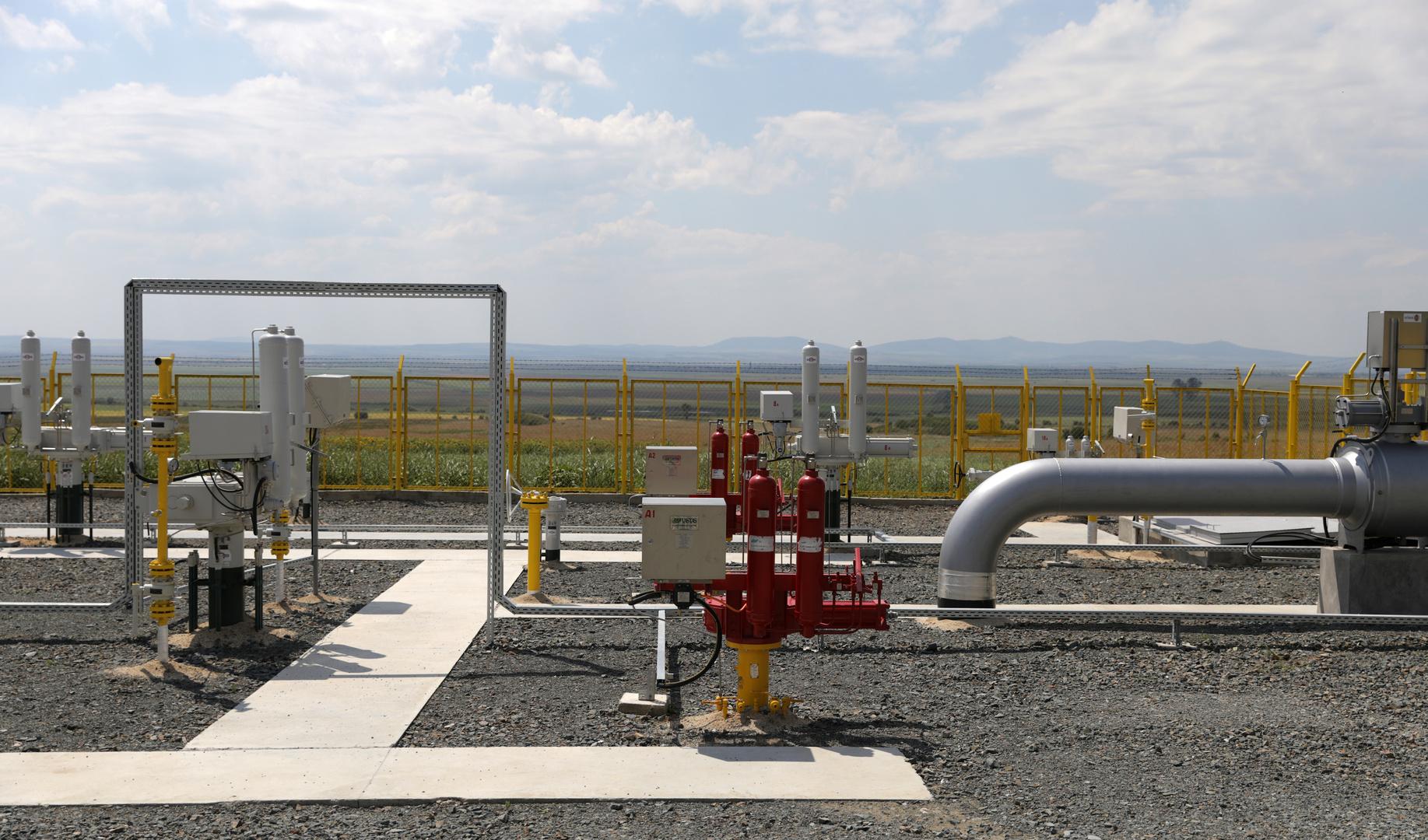 الغاز الروسي يتدفق إلى بلغاريا عبر