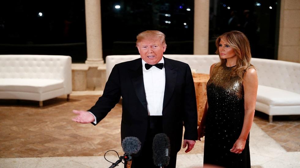 الرئيس الأمريكي دونالد ترامب وسيدة أمريكا الأولى ميلانيا