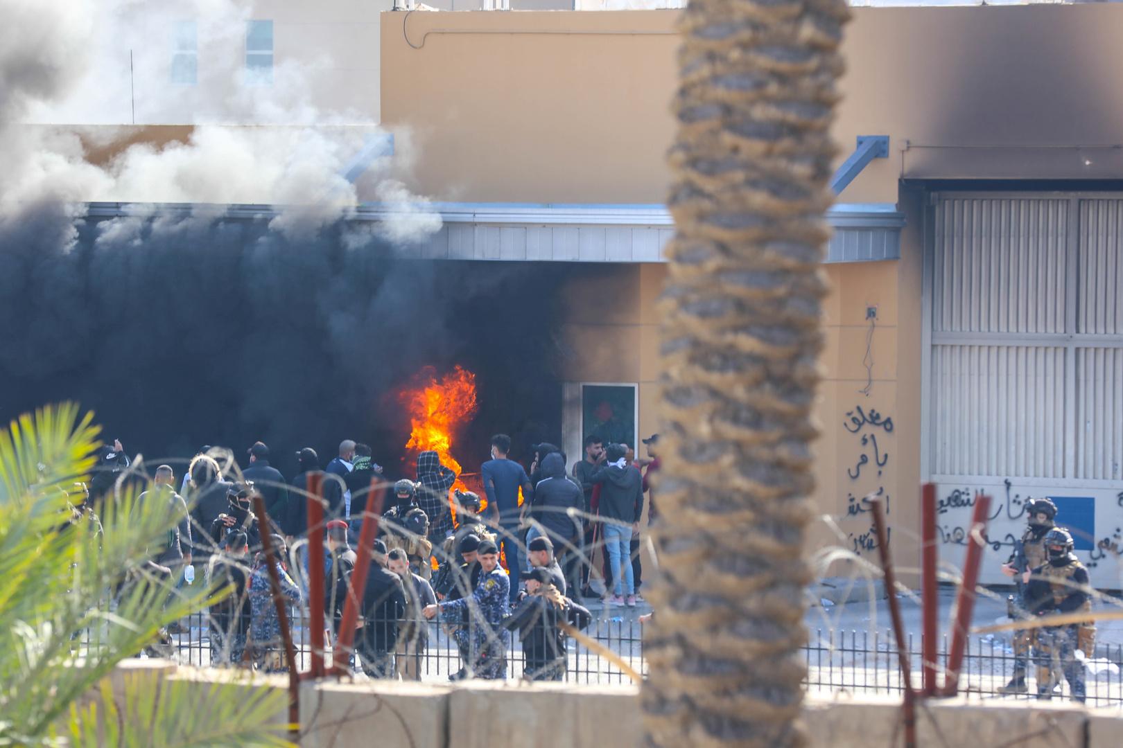 برلين تدين الهجوم على السفارة الأمريكية في بغداد