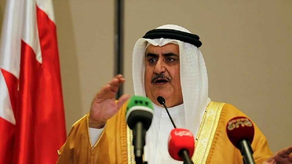 وزير الخارجية البحريني خالد بن أحمد بن محمد آل خليفة