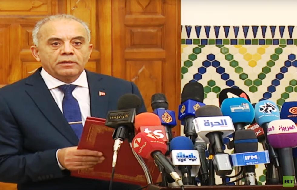 رئيس الحكومة التونسية المكلف يعلن أسماء الوزراء المقترحين