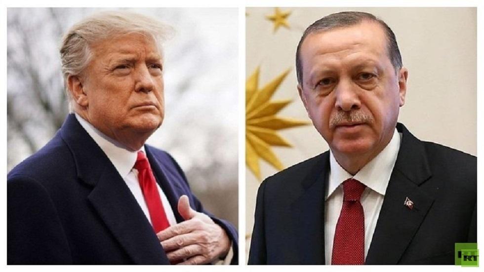 ترامب وأردوغان يبحثان التطورات في ليبيا والعراق وسوريا