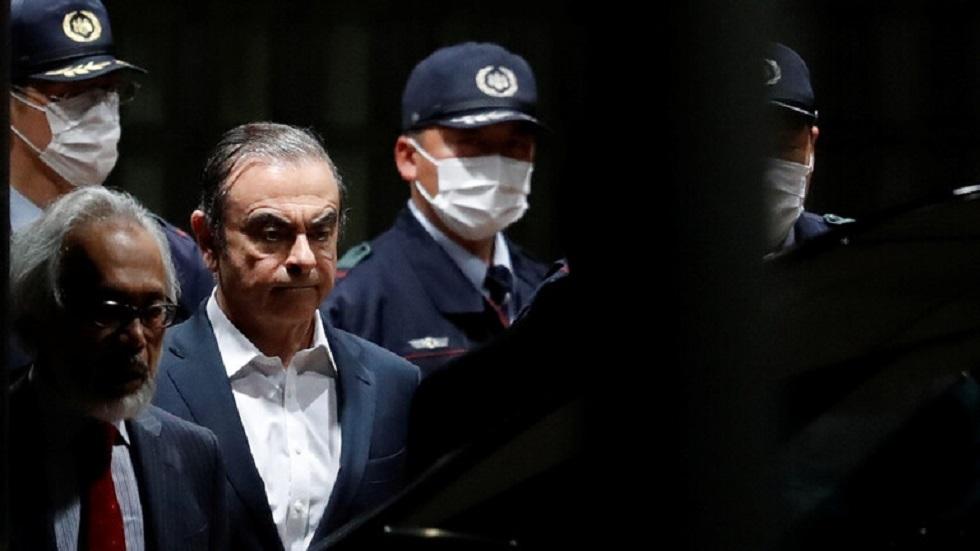 كارلوس غصن يصدر بيانا رسميا حول هروبه من اليابان