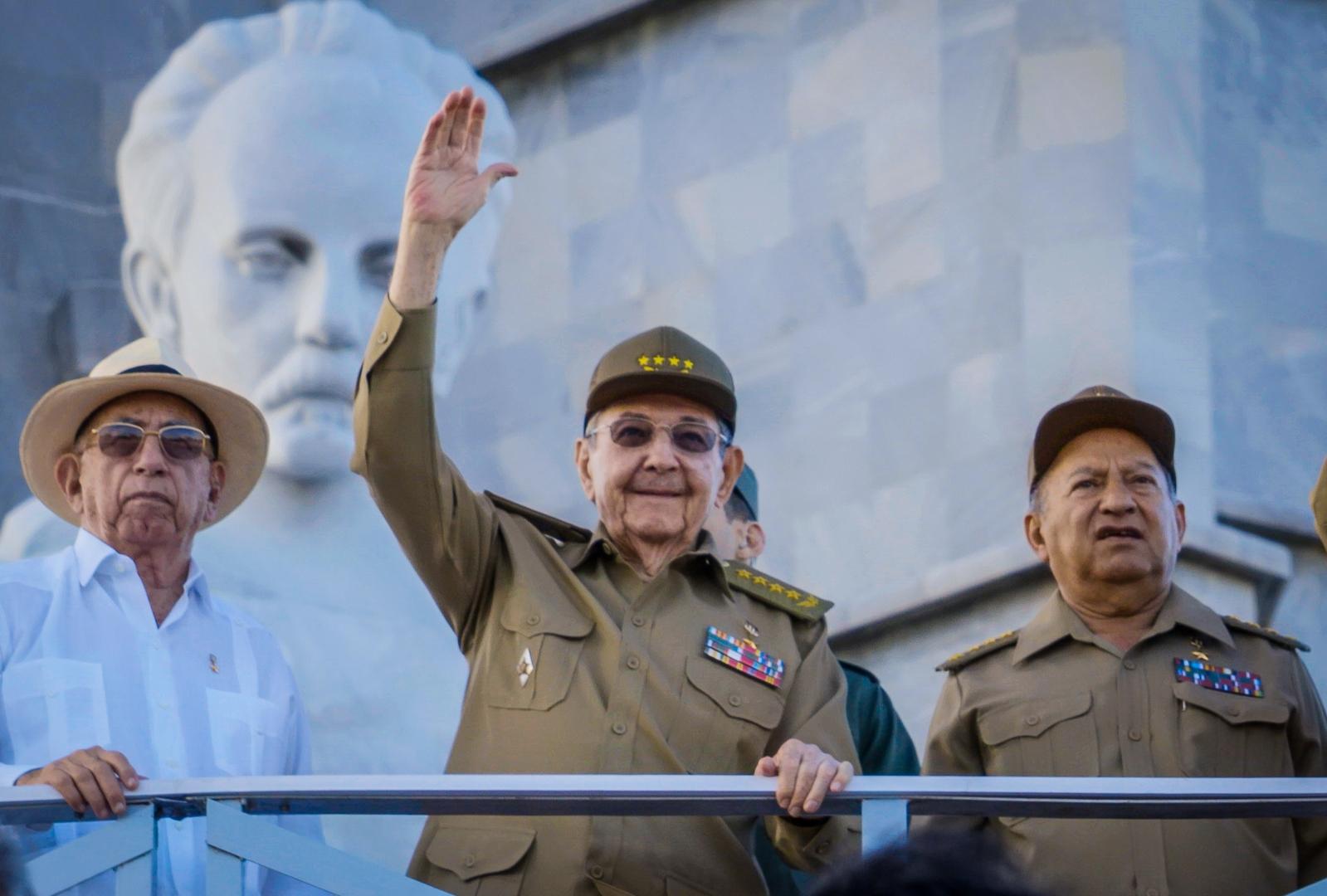 واشنطن تفرض عقوبات على وزير القوات المسلحة الكوبية واثنين من أبنائه