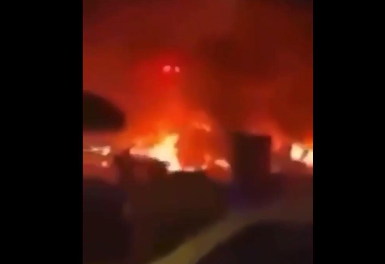 لحظة استهداف موكب قاسم سليماني بالصواريخ