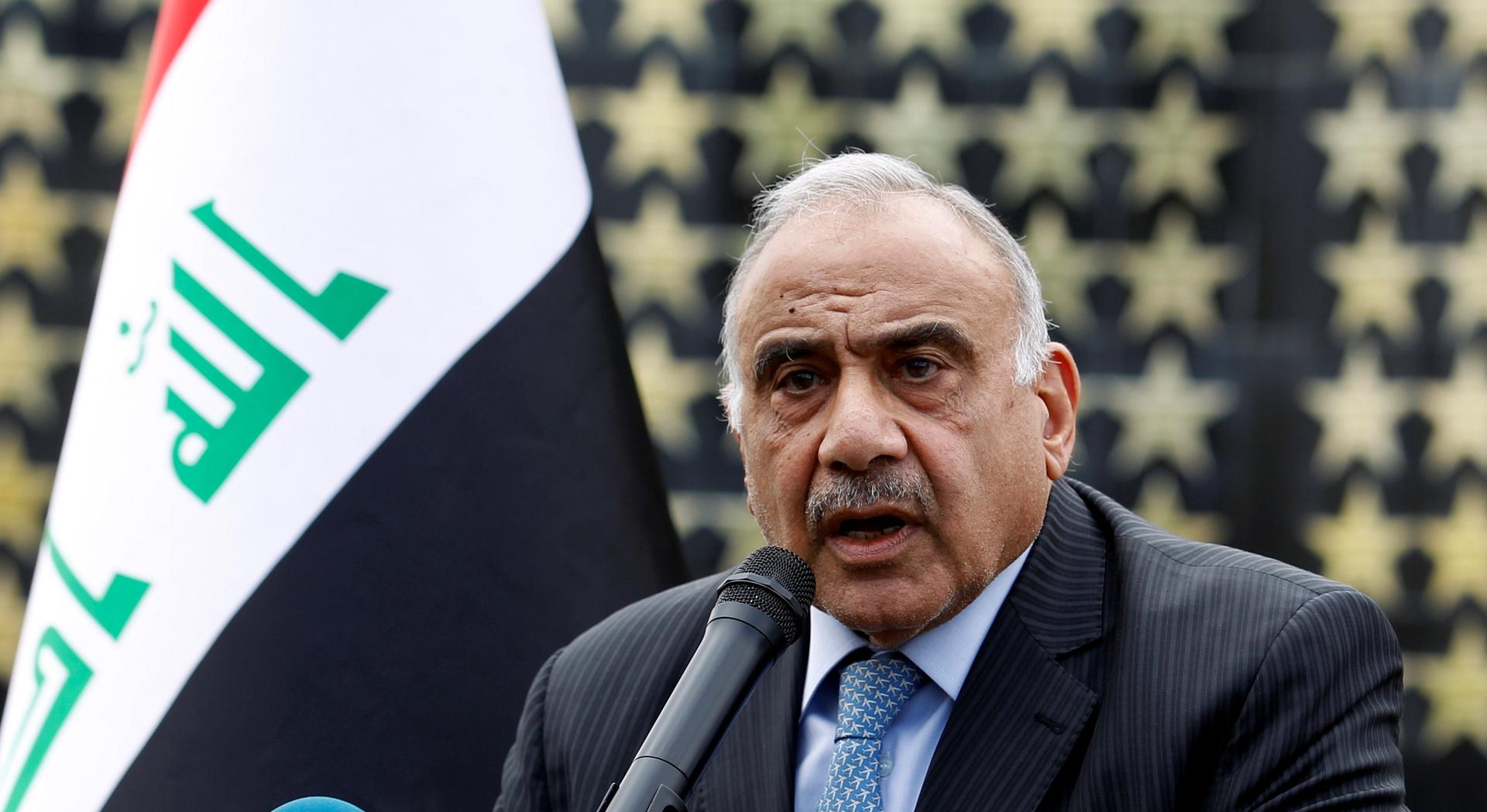 عبد المهدي: اغتيال سليماني عدوانعلى العراقوخرق فاضح لشروطتواجد القوات الأمريكية فيه
