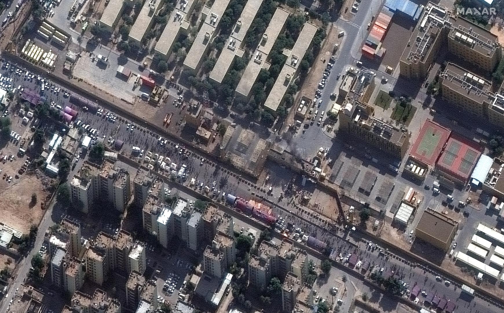 طائرات أمريكية تحلق فوق سفارة واشنطن في بغداد