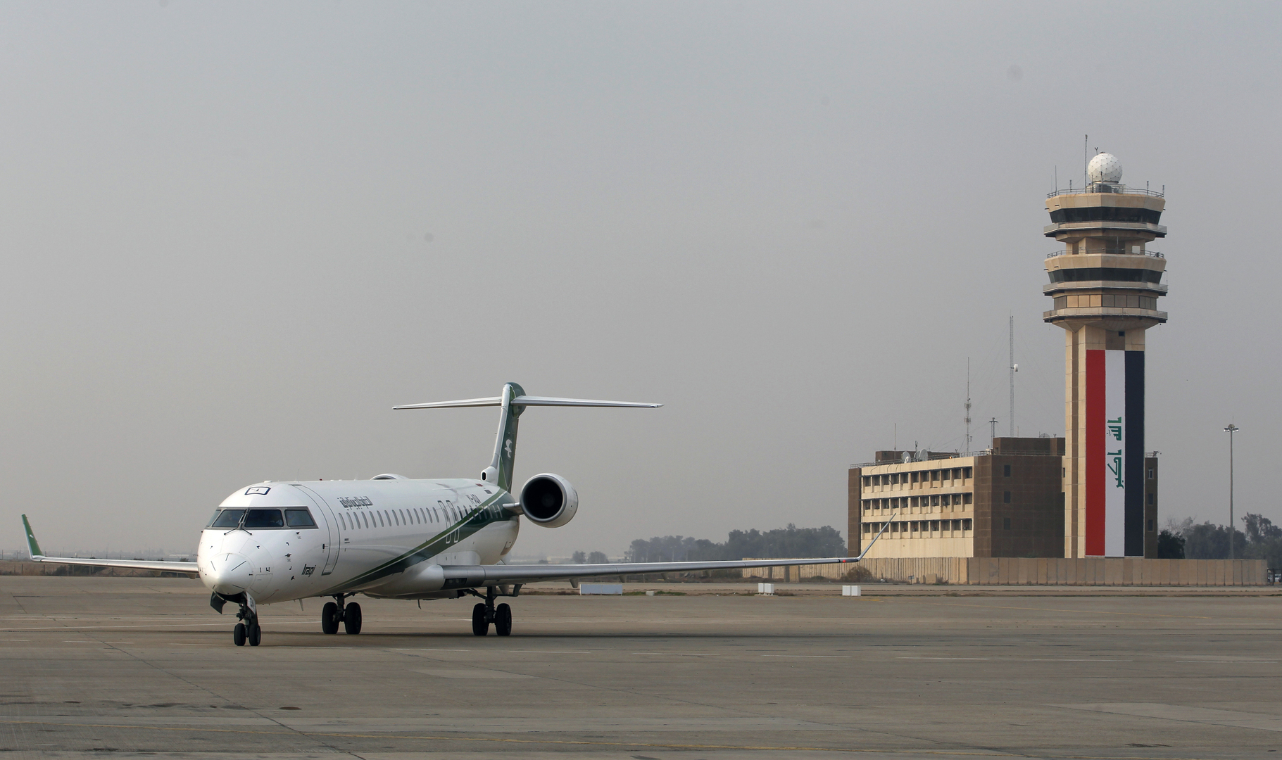 السلطات العراقية: حركة الطيران في مطار بغداد الدولي طبيعية