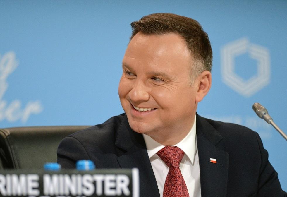 الرئيس البولندي أنجي دودا