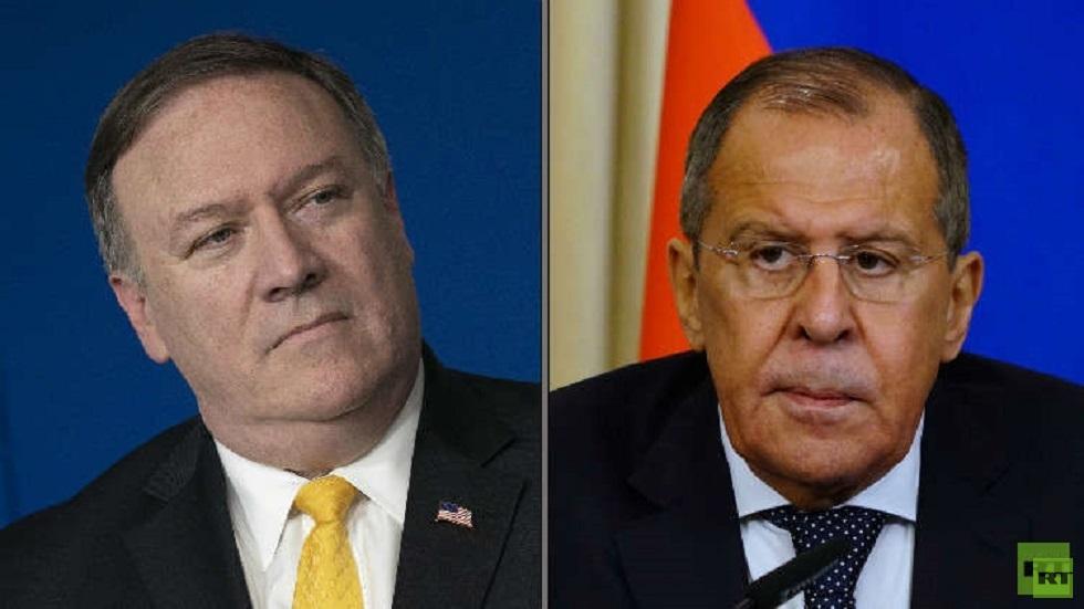 واشنطن: بومبيو أبلغ لافروف بالتزام بلاده بعدم التصعيد مع إيران