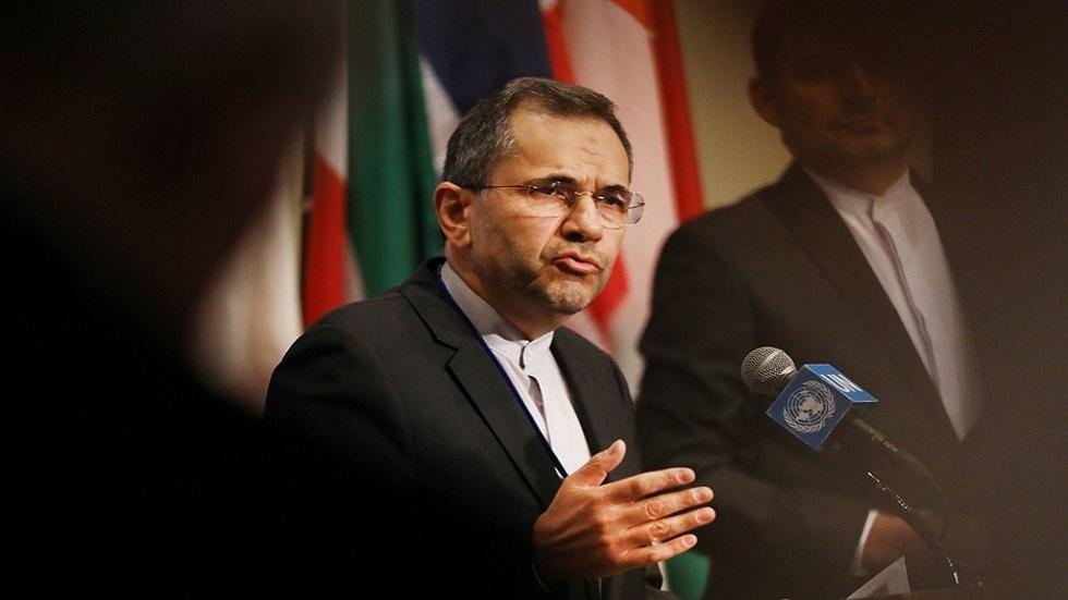 سفير إيران لدى الأمم المتحدة: الرد على العمل العسكري سيكون عسكريا