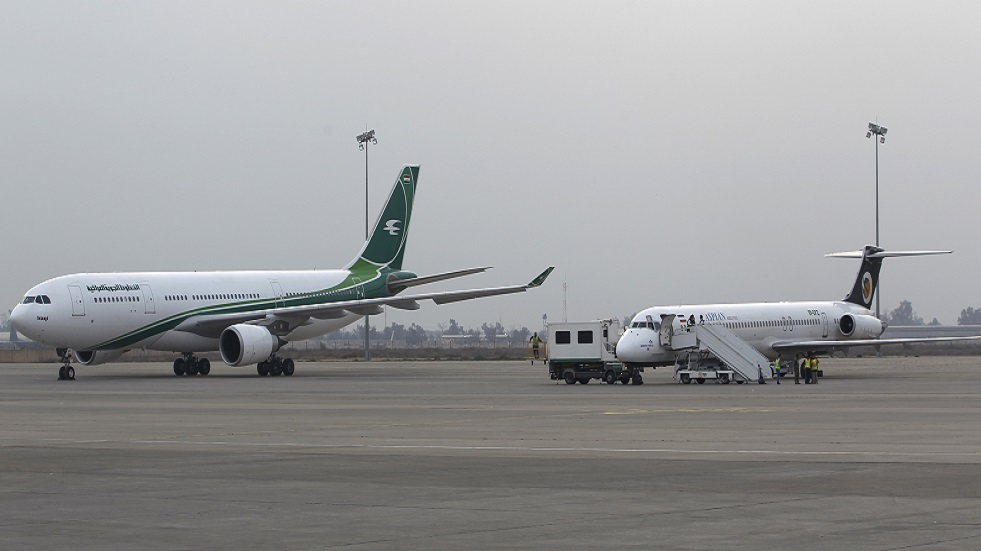 مصدر لـRT: العراق يطمئن شركات الطيران باستقرار الأوضاع في العاصمة