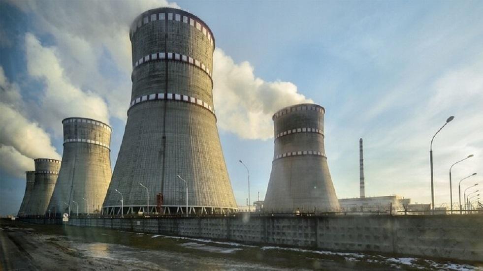 وقف عمل وحدة طاقة بمحطة كهروذرية أوكرانية