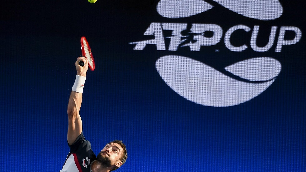 منتخبات فرنسا واليابان والأرجنتين تتفوق في كأس رابطة المحترفين للتنس