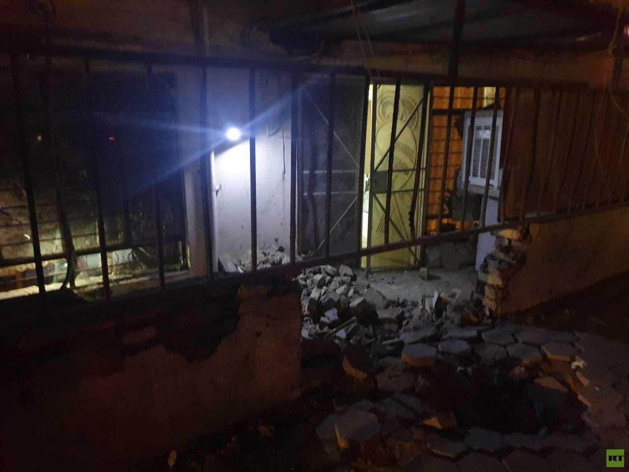 العراق.. انفجار قرب السفارة الأمريكية وسط بغداد