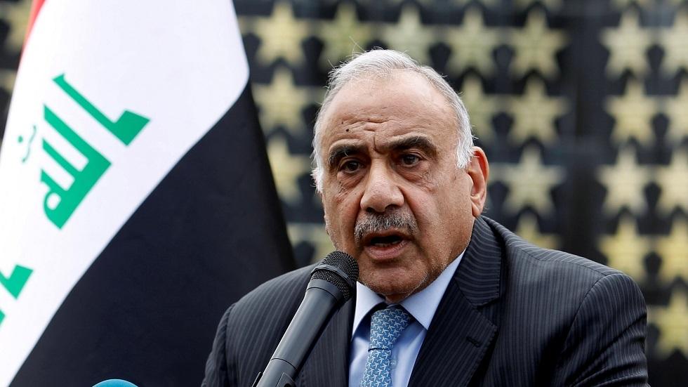 عبد المهدي يعلن الحداد ثلاثة أيام على أرواح ضحايا القصف الأمريكي في مطار بغداد