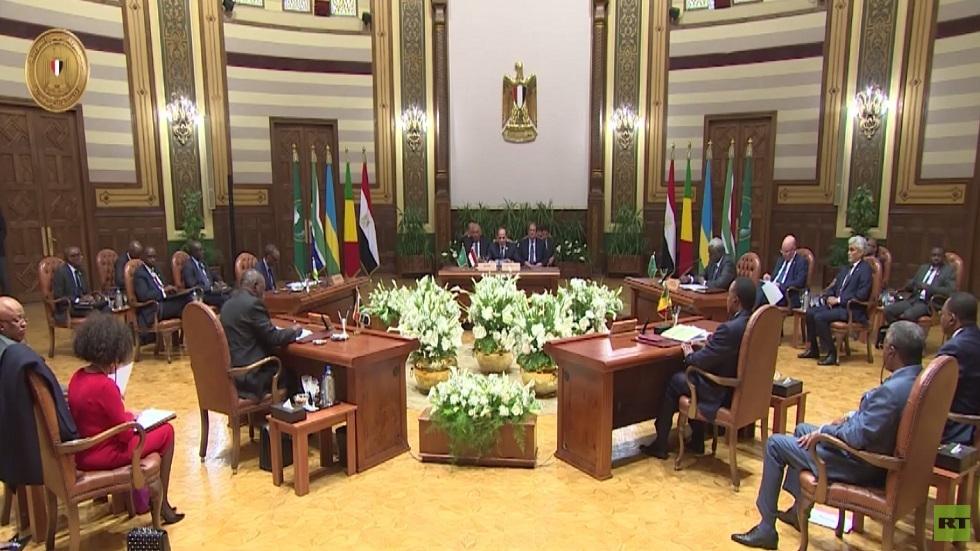 مشاورات إفريقية مصرية بشأن ليبيا