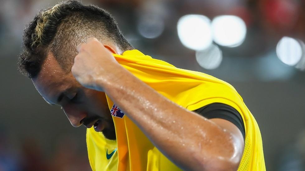 شاهد.. كيريوس يبكي متأثرا بعد إطلاقه مبادرة لمساعدة ضحايا حرائق الغابات في أستراليا