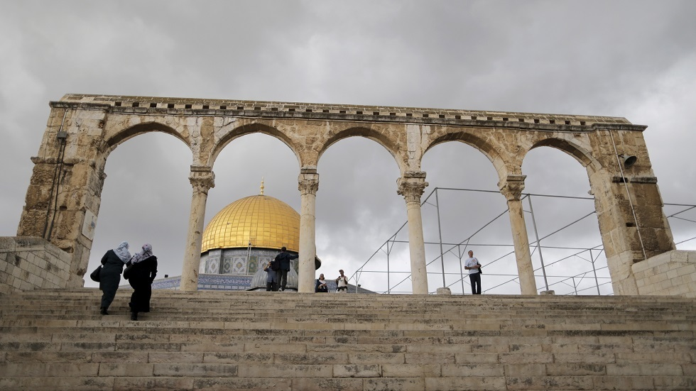 الأوقاف الفلسطينية تطالب إسرائيل بوقف أعمال الترميم في سور