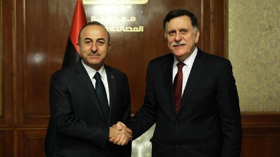 السراج ووزير الخارجية التركي يزوران الجزائر يوم الاثنين