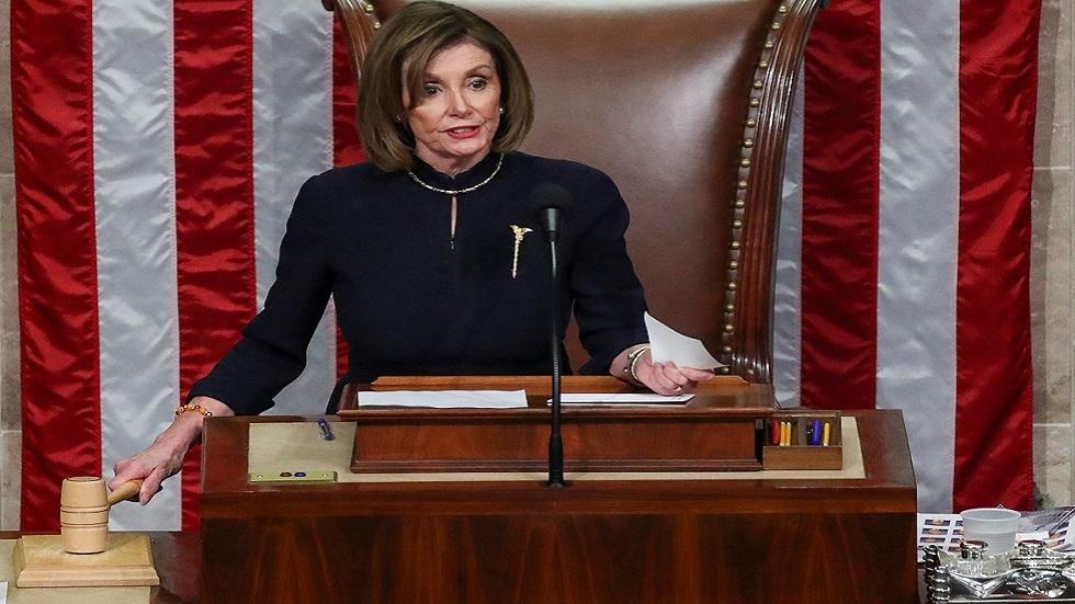 بيلوسي: سنصوت على قانون للحد من تحركات ترامب العسكرية تجاه إيران