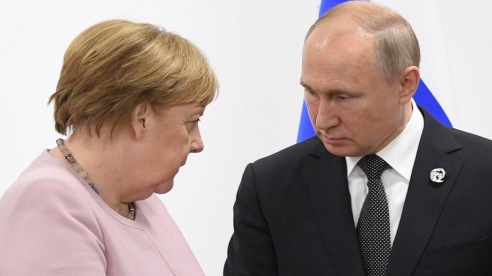 ميركل تزور روسيا في الـ11 من الشهر الحالي بدعوة من بوتين