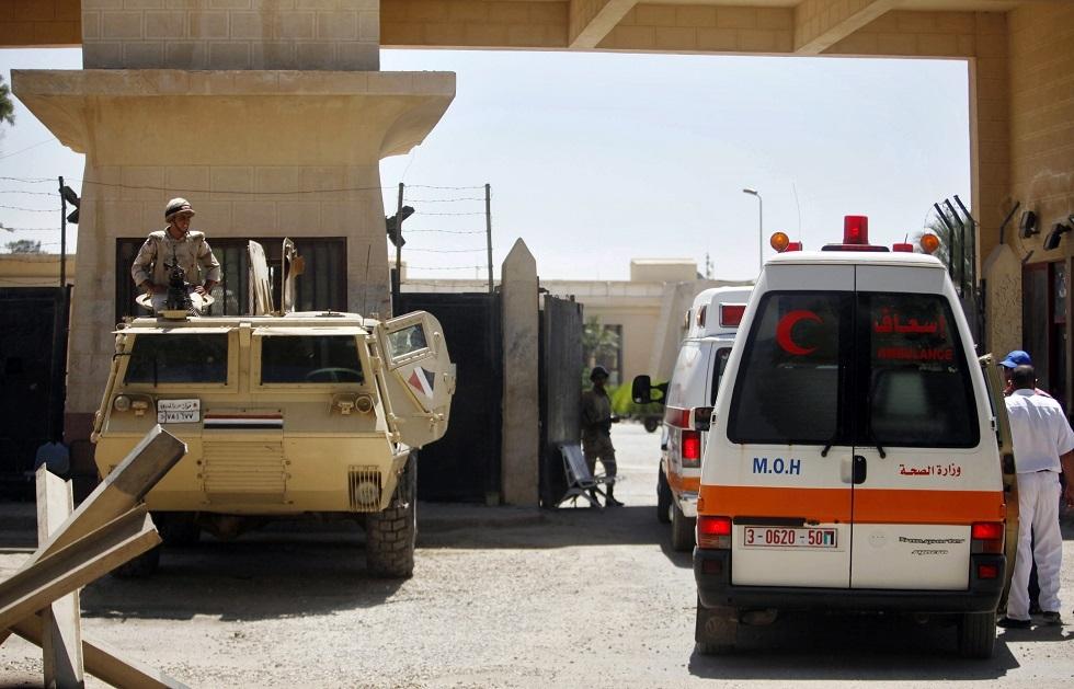 وصول قافلة من عربات الإسعاف ومعدات نقل لذوي الاحتياجات الخاصة إلى غزة