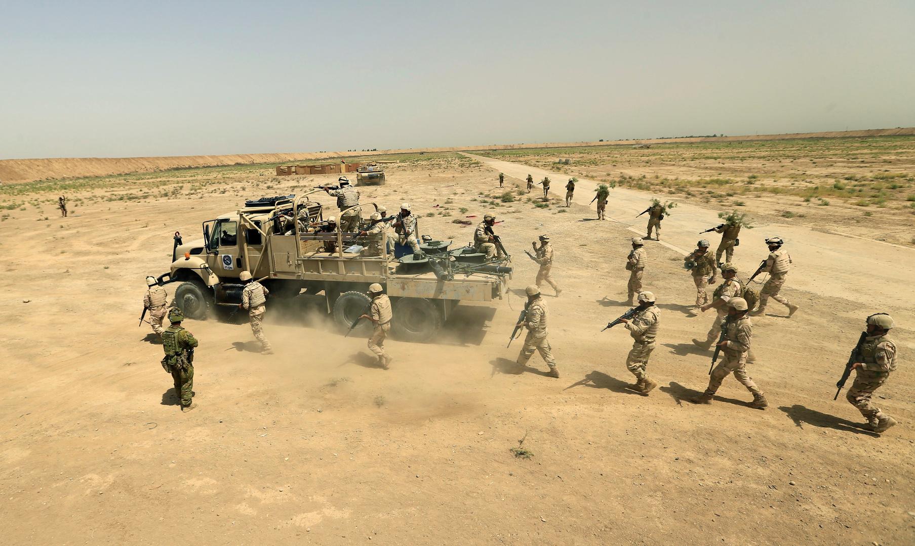 الجيش العراقي: خروج القوات الأجنبية لا يقتضي وقف التدريب والتسليح
