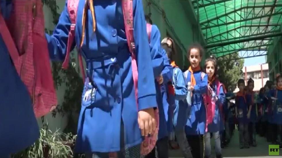 دمشق تؤهل 225 مدرسة بمدينة حمص