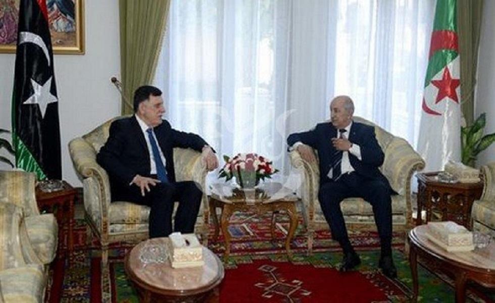 تبون يستقبل السراج ووفدا كبيرا يرافقه في الجزائر العاصمة