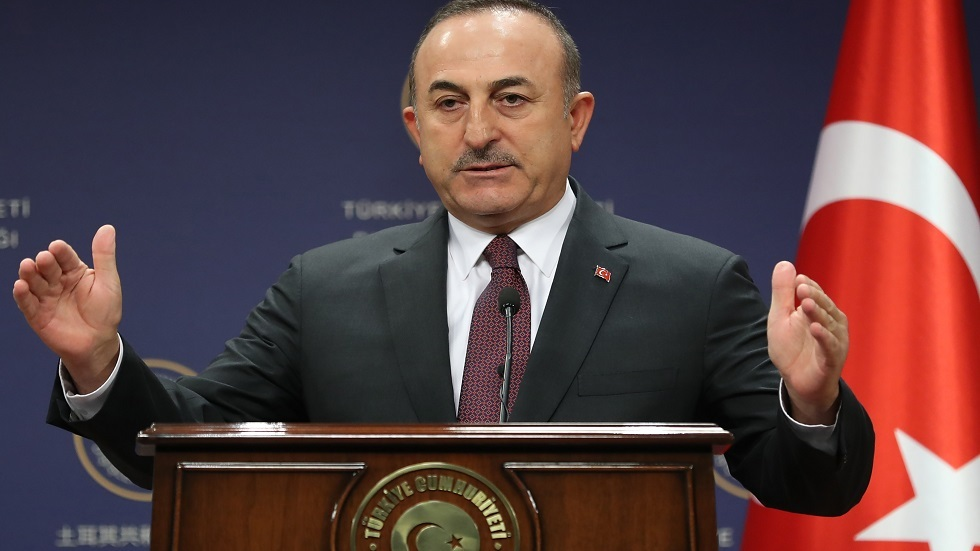 التلفزيون الجزائري: وزير الخارجية التركي مولود تشاووش أوغلو يصل إلى الجزائر