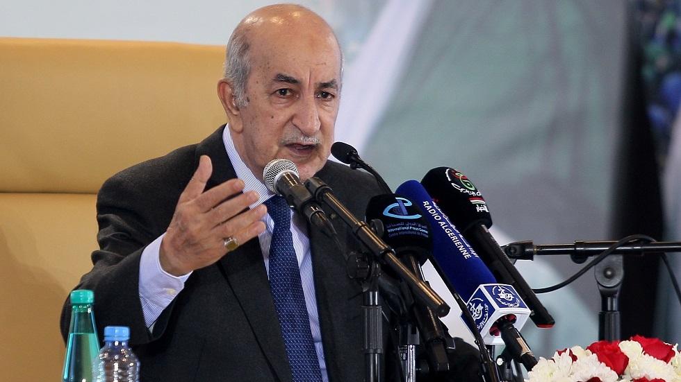 تبون: نرفض التدخلات الأجنبية في ليبيا وندعو الجميع للحوار