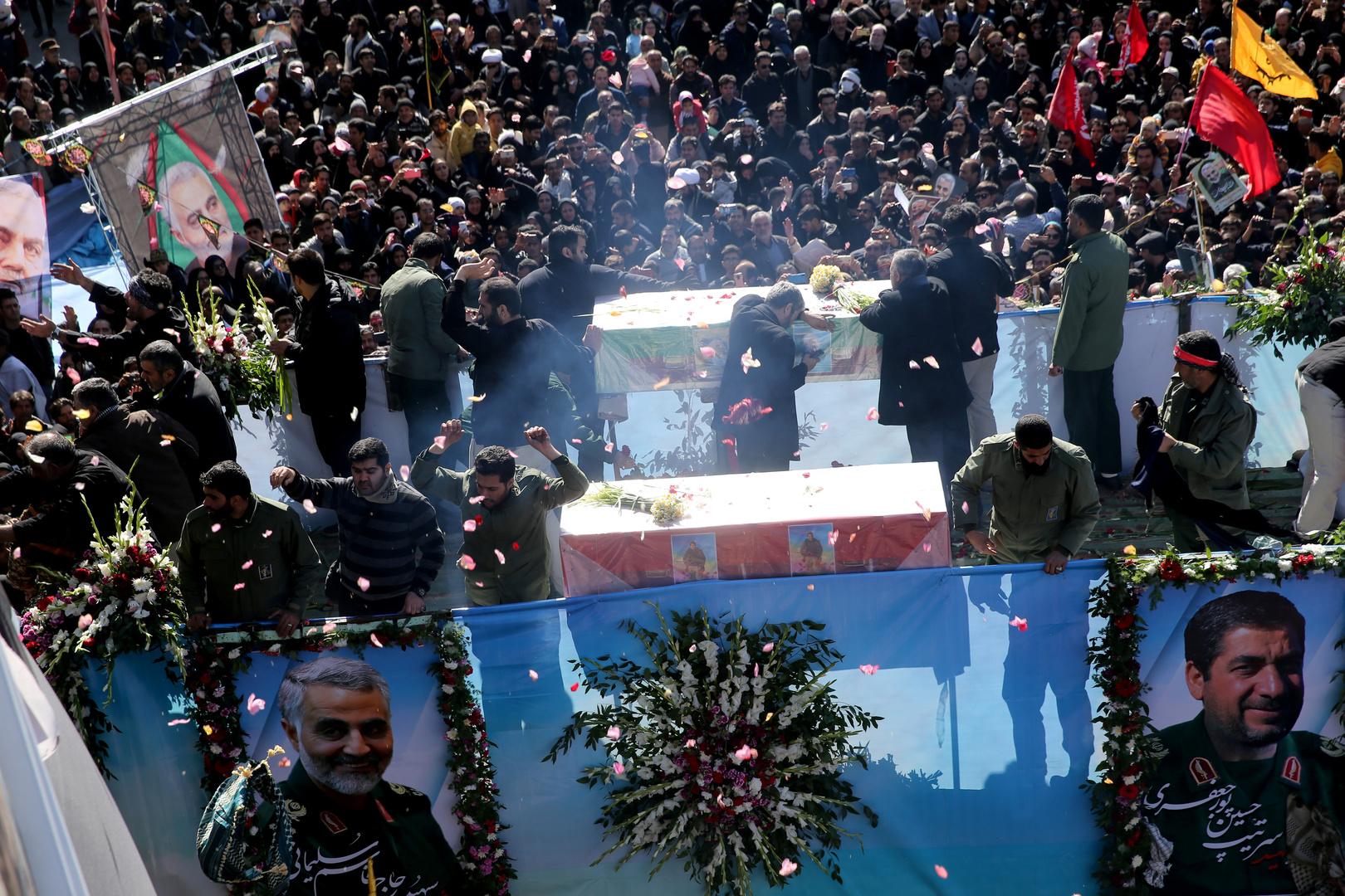قتلى وجرحى بتدافع مشيعي قاسم سليماني في مدينة كرمان الإيرانية