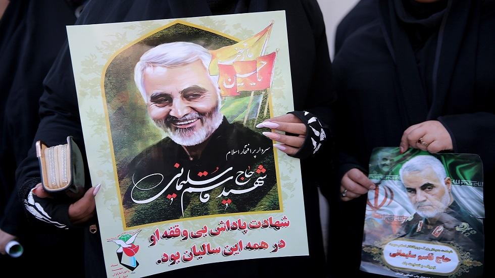 مراسلنا: طهران تعلن تاريخ مقتل سليماني يوما عالميا للمقاومة