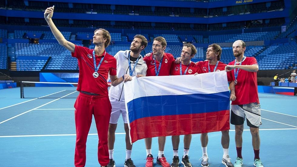 كأس رابطة المحترفين للتنس.. منتخب روسيا إلى ربع النهائي