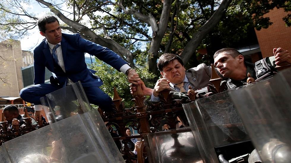 دعوتان منفصلتان من غوايدو وخصمه إلى البرلمان الفنزويلي للانعقاد