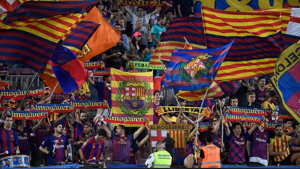 جماهير برشلونة تقع في المحظور