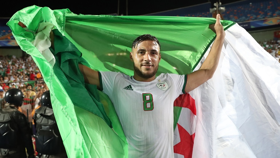 الجزائري بلايلي أفضل لاعب داخل القارة الإفريقية